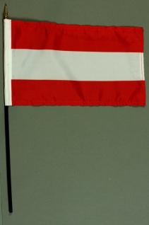 Tischflagge Österreich 15x25 cm BASIC optional mit Tischflaggenständer