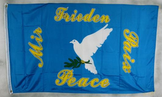 Flagge Fahne : Friedenstaube Flagge