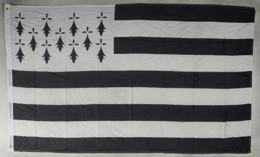 Flagge Fahne : Bretagne Frankreich