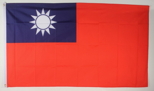 Flagge Fahne : Taiwan Nationalflagge Nationalfahne