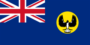Flagge Fahne : South Australia Nationalflagge Nationalfahne