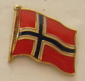 Pin Anstecker Flagge Fahne Norwegen Nationalflagge
