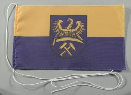 Tischflagge Oberschlesien 25x15 cm optional mit Holz- oder Chromständer Tisch...
