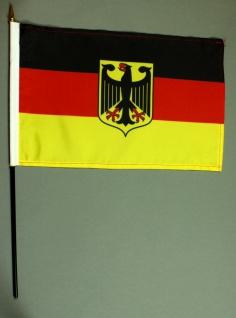 Tischflagge Deutschland Adler Dienstflagge 20x30 cm optional mit Tischflaggen...