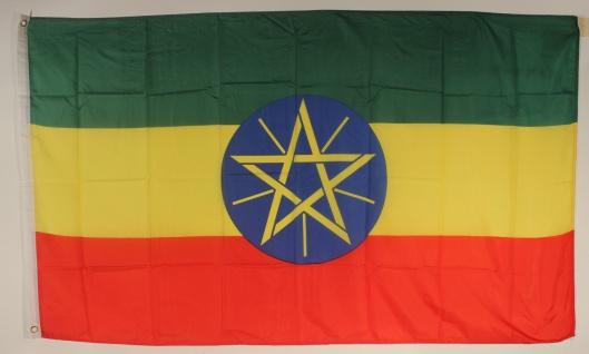 Flagge Fahne : Äthiopien Äthiopienflagge Nationalflagge Nationalfahne