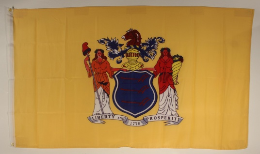 Flagge Fahne : New Jersey