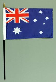 Tischflagge Australien 15x25 cm BASIC optional mit Tischflaggenständer