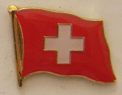 Pin Anstecker Flagge Fahne Schweiz Nationalflagge Schweizerfahne