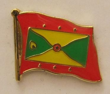 Pin Anstecker Flagge Fahne Grenada Flaggenpin Button Badge Flaggen Clip Anste...