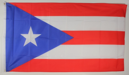 Flagge Fahne : Puerto Rico Nationalflagge Nationalfahne