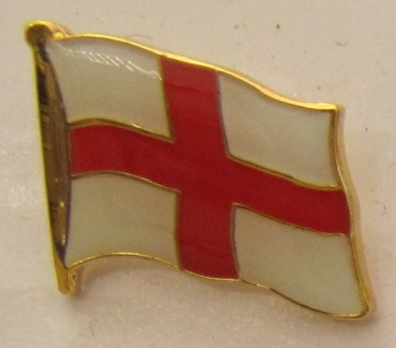 Pin Anstecker Flagge Fahne England rotes Kreuz Flaggenpin Button Badge Flagge...
