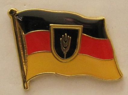 Pin Anstecker Flagge Fahne Wolgadeutsche Wolga Deutsche