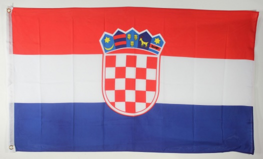 Flagge Fahne : Kroatien Kroatienflagge Nationalflagge Nationalfahne