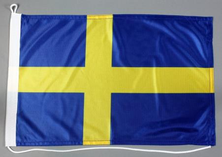 Party-Picker Flagge Schweden Papierfähnchen in Spitzenqualität 50 Stück Beutel
