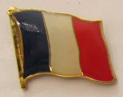 Pin Anstecker Flagge Fahne Frankreich Nationalflagge Tricolore Flaggenpin But...