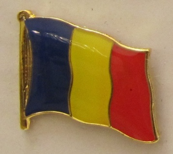 Tschad Pin Anstecker Flagge Fahne Nationalflagge