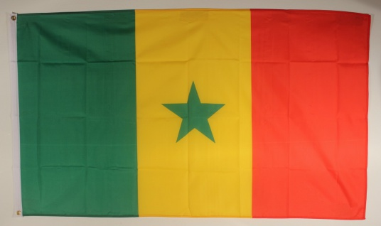 Flagge Fahne : Senegal Senegalflagge Nationalflagge Nationalfahne