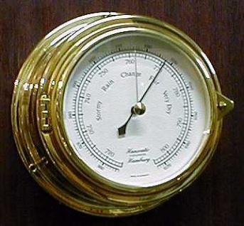 Barometer 150 mm Messing