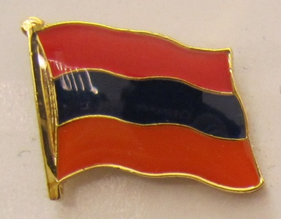 Armenien Pin Anstecker Flagge Fahne Nationalflagge