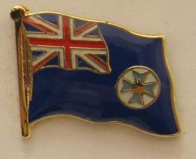 Queensland Australien Pin Anstecker Flagge Fahne