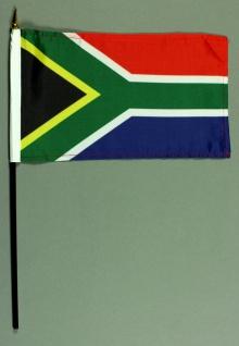 Tischflagge Südafrika 15x25 cm BASIC optional mit Tischflaggenständer