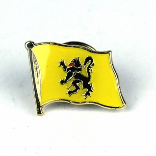 Pin Anstecker Flagge Fahne Flandern Flaggenpin Button Badge Flaggen Clip Anst...