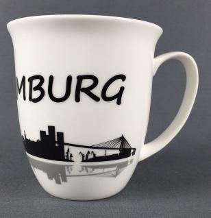 I love Hamburg Kaffeebecher Skyline 400ml Souvenir Kaffeetasse Kaffee Becher ... - Vorschau 4
