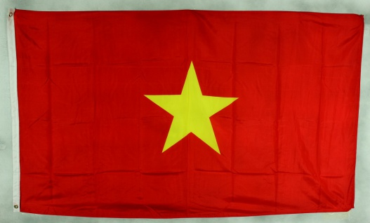 Flagge Fahne : Vietnam Nationalflagge Nationalfahne
