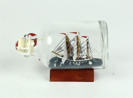 Seute Deern Mini Buddelschiff 50 ml ca. 7, 2 x 4, 5 cm Flaschenschiff - Vorschau 2