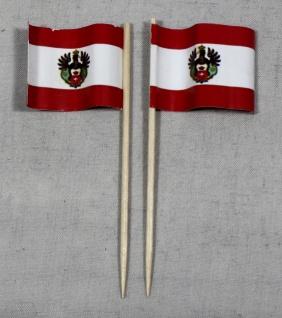 Party-Picker Flagge Königsberg Ostpreussen Papierfähnchen in Spitzenqualität ...