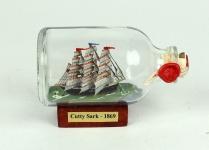 Cutty Sark Mini Buddelschiff 50 ml ca. 7, 2 x 4, 5 cm Flaschenschiff