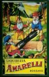 Blechschild Nostalgieschild Amarelli Rossano Italien