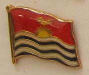Pin Anstecker Flagge Fahne Kiribati Flaggenpin Button Badge Flaggen Clip Anst...