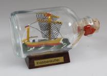 Krabbenkutter Mini Buddelschiff 50 ml ca. 7, 2 x 4, 5 cm Flaschenschiff