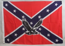 Flagge Fahne : US Südstaaten mit Adler