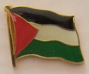 Palästina Pin Anstecker Flagge Fahne