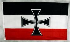 Flagge Fahne Gösch kaiserliche Kriegsmarine vor 1918 Göschflagge RKF