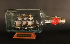 Charles W. Morgan Walfänger Moby Dick eckige Ginflasche 0, 375 Liter Buddelsch...