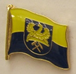 Pin Anstecker Flagge Fahne Oberschlesien Ober Schlesien