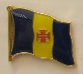 Pin Anstecker Flagge Fahne Madeira Spanien