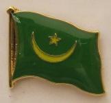 Mauretanien Pin Anstecker Flagge Fahne Nationalflagge
