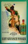 Blechschild 4711 Soldat Hausnummer Soldat Reiter Pferd kölnisch Wasser Parfum...
