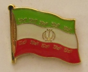 Iran Pin Anstecker Flagge Fahne Nationalflagge
