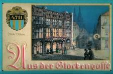 Blechschild 4711 Aus der Glockengasse Köln Kosmetik Parfum kölnisch Wasser Sc...