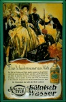 Blechschild 4711 Wunderwasser Adel Hofdame Diener kölnisch Wasser Parfum Schi...