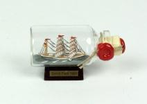 Gorch Fock Mini Buddelschiff 10 ml 5x2 cm Flaschenschiff