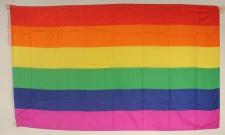 Regenbogen Flagge Großformat 250 x 150 cm wetterfest