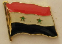 Syrien Pin Anstecker Flagge Fahne Nationalflagge