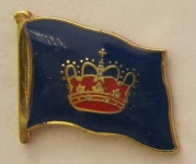 Pin Anstecker Flagge Fahne Fehmarn Inselflagge Flaggenpin Button Badge Flagge...