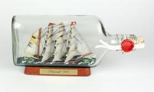 Passat 375 ml Buddelschiff Flachmann ca. 21x9 cm Flaschenschiff